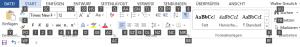 3er-Tastenkombinationen: Auswahltasten für Befehle auf der Start-Registerkarte