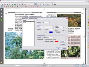 PDF-Korrektor 1.5: Eigenschaften der Korrekturzeichen