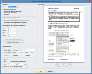PDF-Korrektor 2.0: Festlegung des Seitenbereichs für die Randwiederholungen
